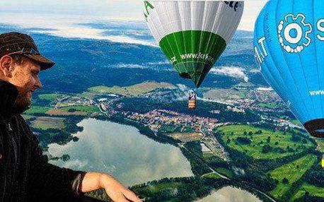 Nezapomenutelný let balonem pro jednoho či dva