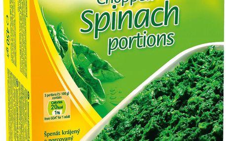 Bonduelle Bonduelle Špenátové listy hluboce zmrazené 750g