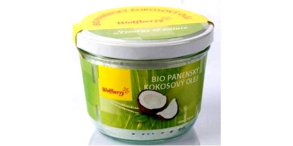 Bio panenský kokosový olej Wolfberry 200 ml