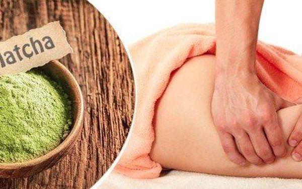 60minutová Matcha masáž