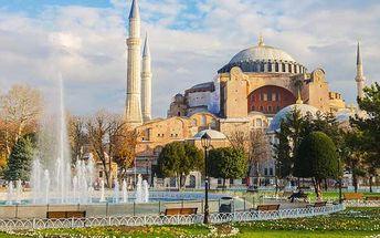 4denní zájezd do Istanbulu letecky s ubytováním