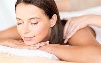 Prohřívací masáž zad a akupresura