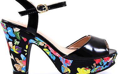 Sandálky na podpatku LT22516B Velikost: 38