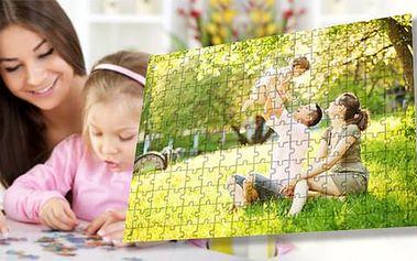Puzzle s fotkou dle vašeho výběru s doručením zdarma