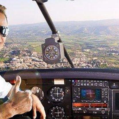 Zážitkový let v Piper Arrow pro 1 osobu