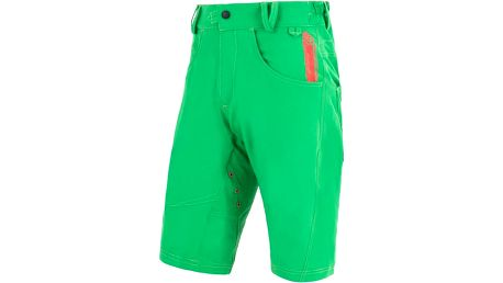 Sensor Charger Cycling Shorts Green, zelená, M