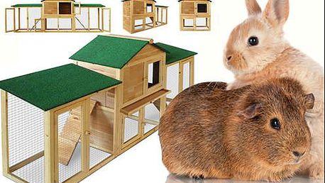 Velká variabilní králíkárna s poštovným v ceně