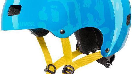 UVEX Kid 3 dirtbike cyan 55-58 cm dětská cyklistická přilba