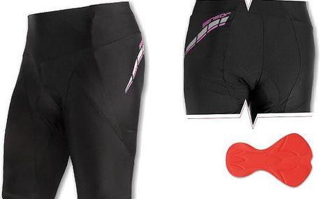 Sensor Race W's Cycling Shorts Black/Purple, černá, 38