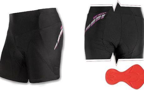 Sensor Race W's Cycling Shorts Black, černá, 36