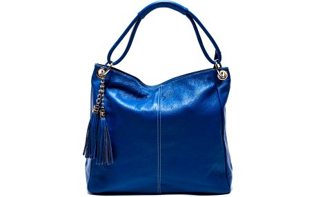 Kožená kabelka Anna Luchini 71 Bluette - doprava zdarma!