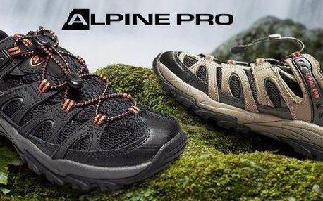 Treková obuv Alpine Pro s prodyšnou síťovinou