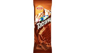Sedita Sedita Tatranky Oplatky s kakaovo-čokoládovou náplní v mléčno-kakaové polevě 30g