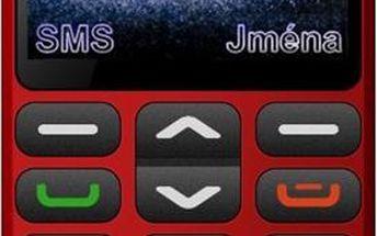 Aligator A870 Senior Red + Stolní nabíječka