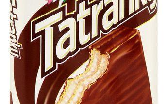Sedita Sedita Tatranky Oplatky s mléčnou náplní v mléčno-kakaové polevě 30g