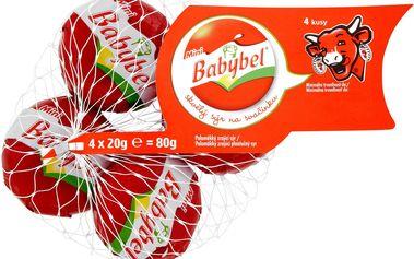 Babybel Babybel Mini Poloměkký zrající sýr 4 × 20g