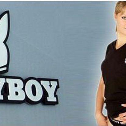 Dámské triko Playboy s výstřihem do V!