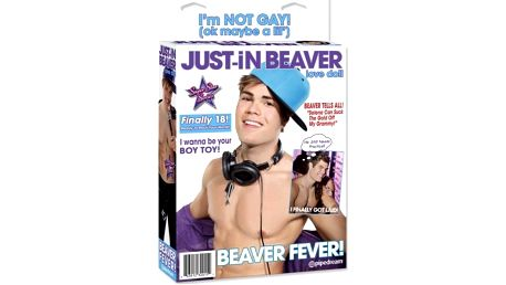 Nafukovací panák Just-in Beaver!