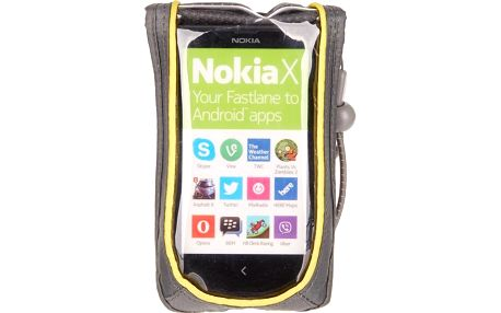 Nokia CP-110 univerzální pouzdro černé/žluté