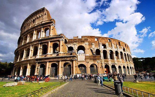 4denní poznávací zájezd do Říma, Vatikánu a Florencie s ubytováním pro 1 osobu