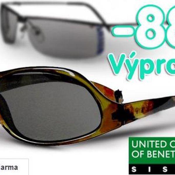Výprodej -88% sluneční brýle Benetton a Sisley