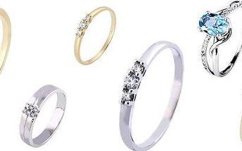 Luxusní zlaté prstýnky Marcus Astory