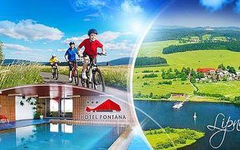 LIPNO! Pobyt na 3 DNY pro 1 osobu ve 3* hotelu u přehrady včetně POLOPENZE a BAZÉNU, v létě nebo na podzim!