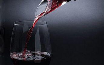 Stylová nálevka na víno