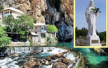 Nejnavštěvovanější poutní místo 4 denní zájezd do Medžugorje + návštěva Sarajeva.