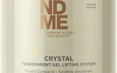 Transparentní gelový melír se sníženou prašností Schwarzkopf Professional Blondme Crystal Transparent Gel Lifting System pudr 450 g