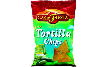 Casa Fiesta Casa FiestaTortilla chips Kysaná smetana & Jalapeňo 200g