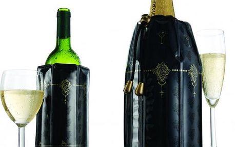 IIC Chladící obal na víno a šampaňské - černozlatá (38873)