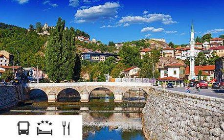 Bosna a Hercegovina – poznávací zájezd