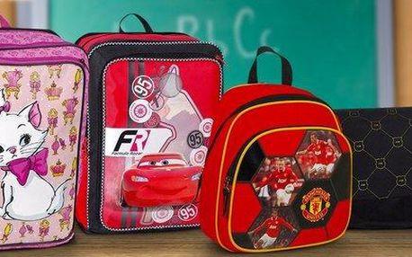 Batohy a tašky se spoustou kapes do školy i na ven