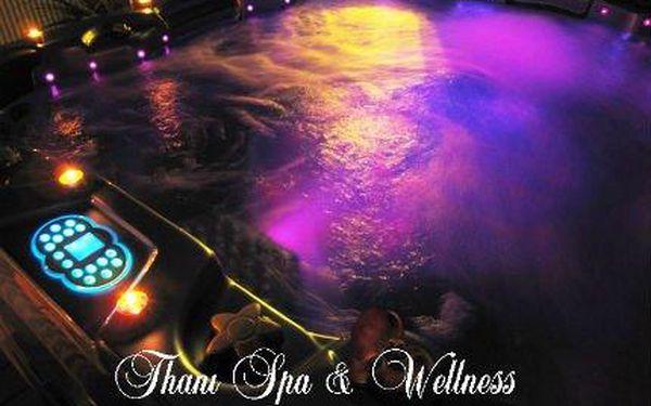 Relaxace v privátní vířivce a infrasauně PRO DVA