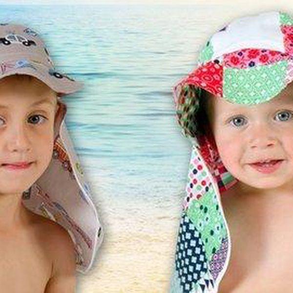 Dětské kloboučky Vajáva šité v české rodinné firmě