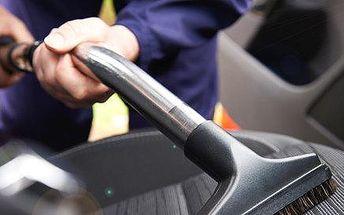Profi tepování interiéru vozu včetně kufru - s dárkovým poukazem platí do konce roku!