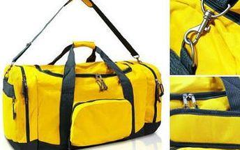 Velká cestovní taška s objemem 90 litrů