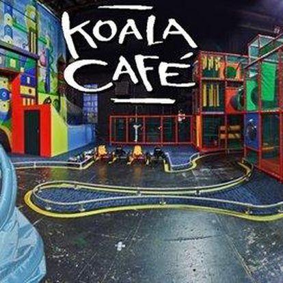 Vstup do rodinného zábavního centra Koala Café včetně nápoje