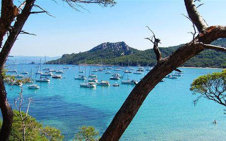 Panenský Porquerolles a hříšná Marseille - 5 denní