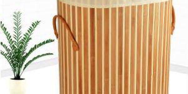 Bambusový koš na prádlo. Cena včetně doručení!