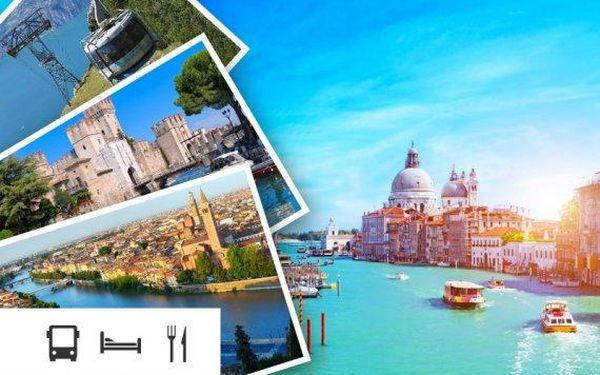 Benátky, Verona a Lago di Garda – 4denní zájezd s ubytováním