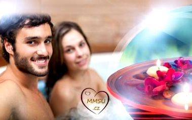 Privátní romantická vířivka při svíčkách na 90 nebo 120 minut pro DVA! Zpestřete si partnerský život!