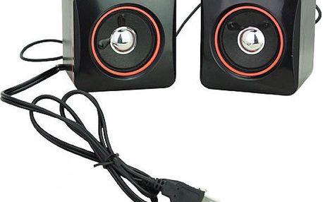 Repráčky k notebooku - napájení z USB