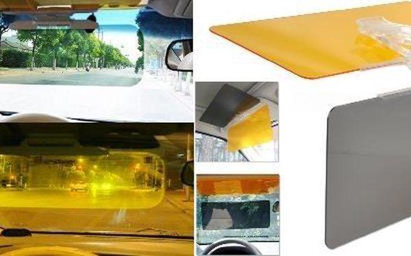 Absolutní výprodej - Clona do auta - poslední kusy skladem - Chraňte své oči a udělejte jízdu autem bezpečnější. Skvělé pro osoby s dioptrickými brýlemi.