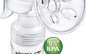 Avent odsávačka mateřského mléka Natural