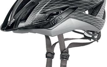 UVEX Ultrasonic CC - black-silver mat vel. 52-55 cm