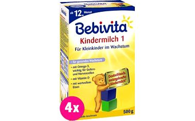Bebivita JUNIOR 1+ (500g) - kojenecké mléko