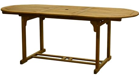 Zahradní dřevěný stůl Fieldmann FDZN 4004