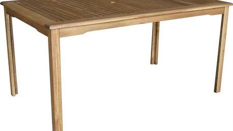 Zahradní dřevěný stůl Fieldmann FDZN 4002